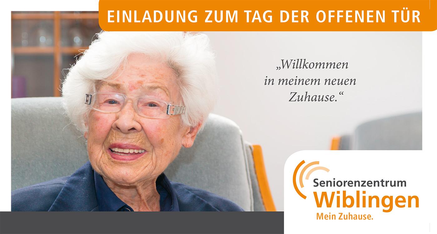 Einladung zum Tag der offenen Tür am Samstag, 20.09.2017 im Seniorenzentrum in Wiblingen