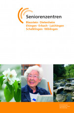 MEIN ZUHAUSE, Konzept und Broschüre aller Seniorenzentren der Pflegeheim GmbH Alb-Donau-Kreis