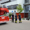 PM Feuerwehruebung im Seniorenzentrum Laichingen