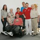 Sposoringaktion Massagesessel für Seniorenzentren Ehingen und Erbach