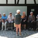 Seniorenzentrum Dietenheim, Bewohner besuchen Blautopf