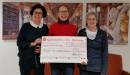 Großzügige Spende für den Förderverein Seniorenzentrum Wiblingen