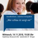 Gesundheitsforum Ehingen, November 2018