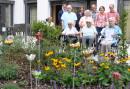 Gartenkunstprojekt im Seniorenzentrum Wiblingen