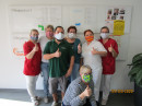 Masken aus dem Nähcafé