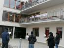 Saxophonkonzert vor dem Seniorenzentrum Dietenheim