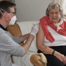 Impfung im Seniorenzentrum Schelklingen